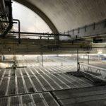 Raumgerüst für Montagearbeiten